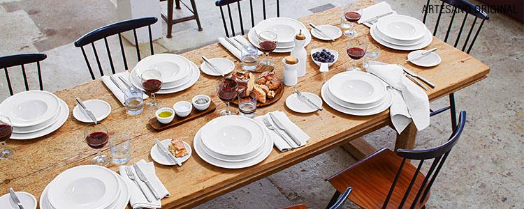 Porzellanwelt artesano original for Service de table original